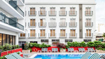 Aqua Hotel Bertran - uden børn hos Spies.
