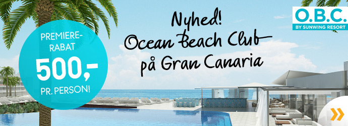 Nyt Ocean Beach Club!