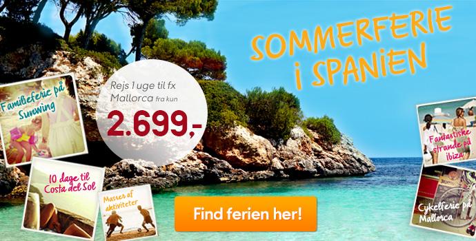 Sommer i Spanien!