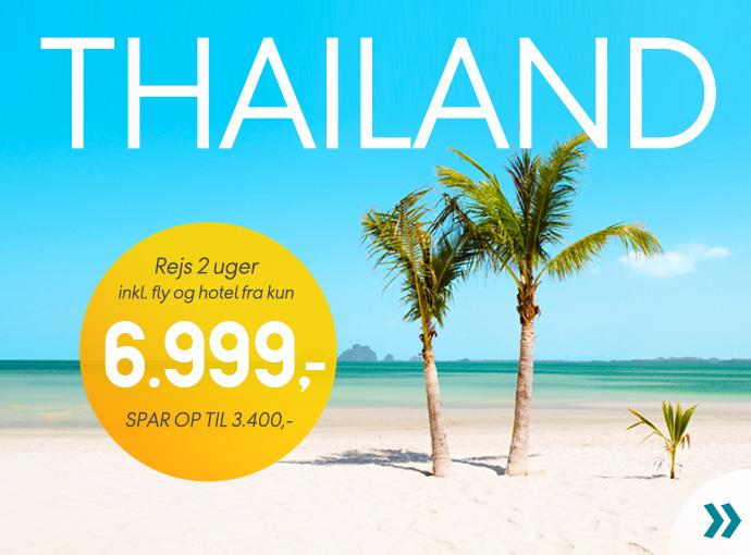 Thailand fra 6.999,-