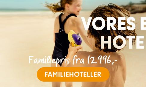 Hotelkoncepter for familien