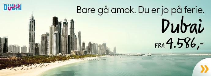 Dubai fra 4.586,-