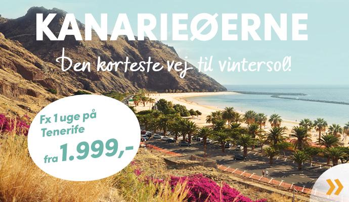 Vinterferie på Kanarieøerne