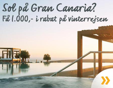 Spar på rejser til Gran Canaria