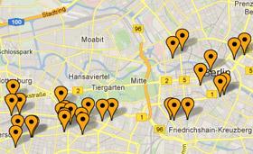 Centralt placerede hoteller i Berlin