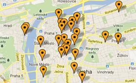 Spies har altid centrale hoteller i Prag