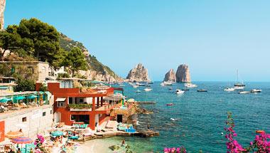 Palma (Mallorca), Marseilles , Rom, Napoli