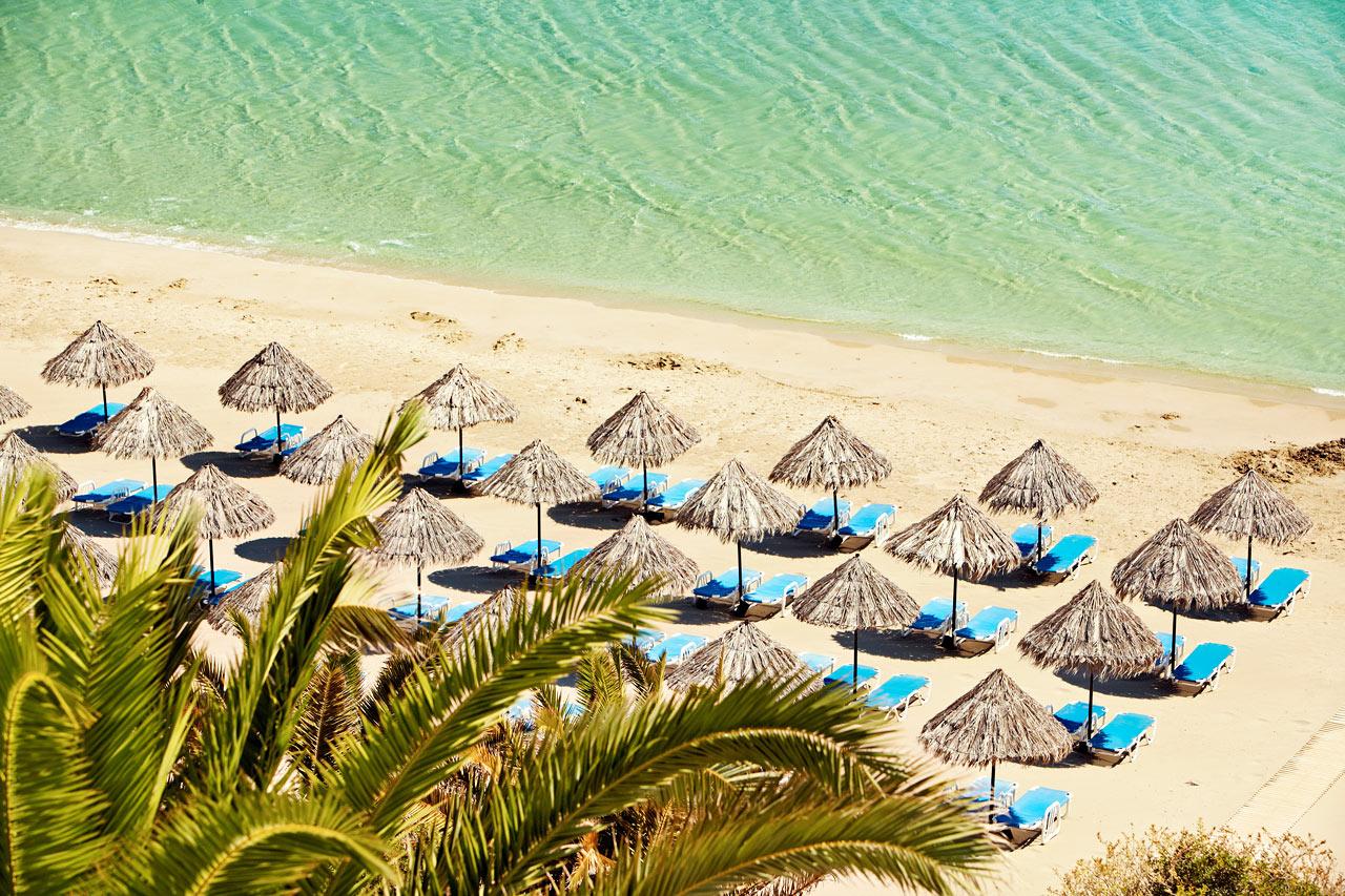 En af Kretas bedste strande