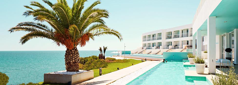 Ocean beach club kreta hotel i makrigialos spies rejser for Designhotel kreta