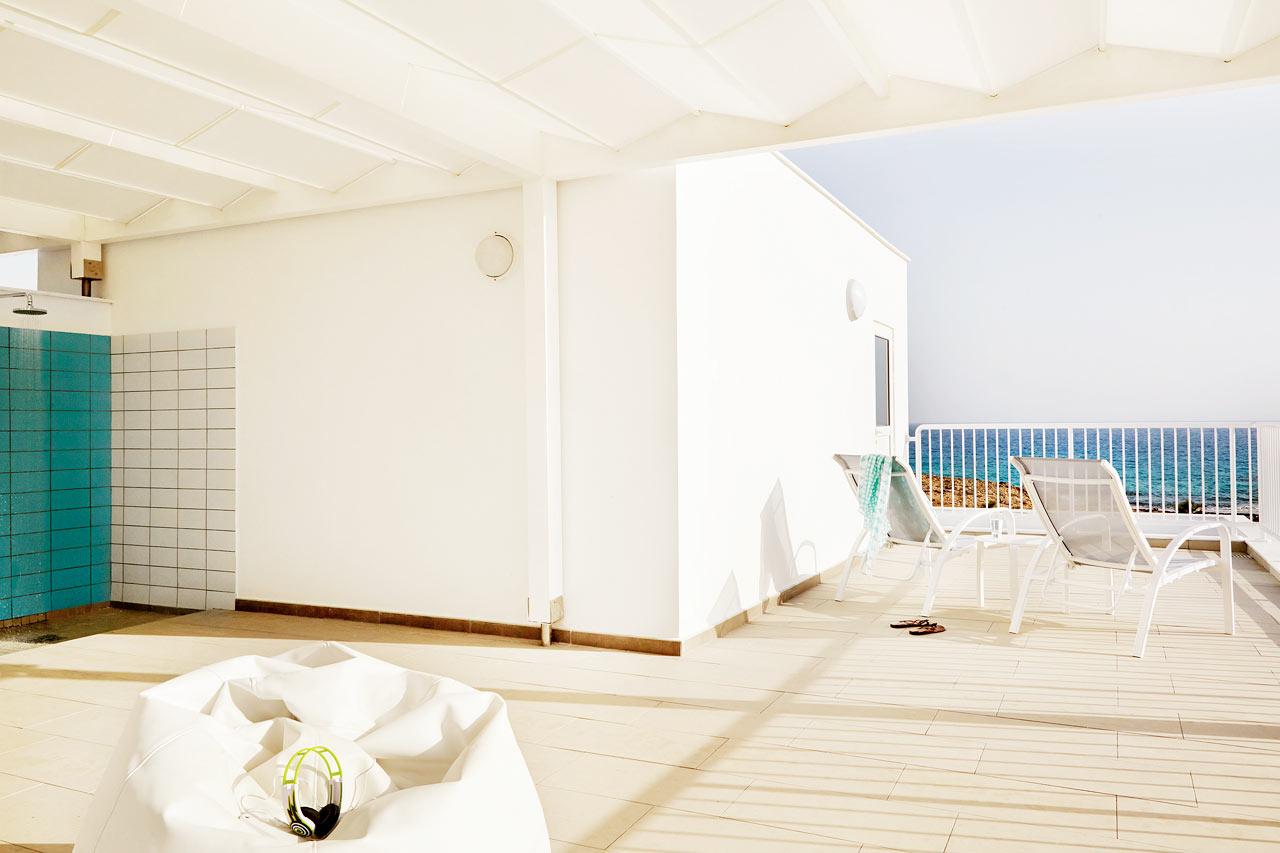 3-værelses Royal Family Suite med tagterrasse (afbildet) og stor balkon