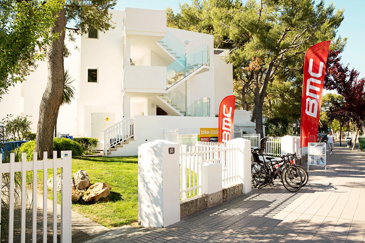 Ved Bike Station kan du leje professionelle cykler