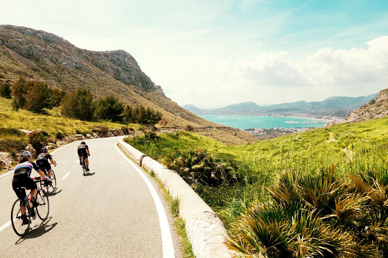 Mallorca er et godt valg for cykelentusiaster