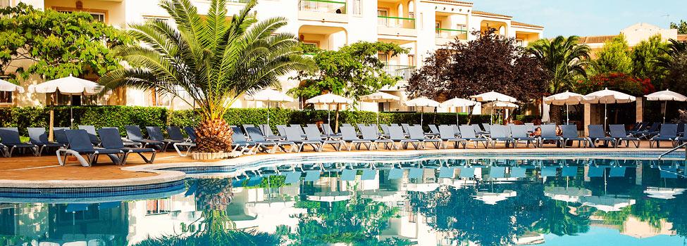 Et af Viva Tropics tre poolområder.