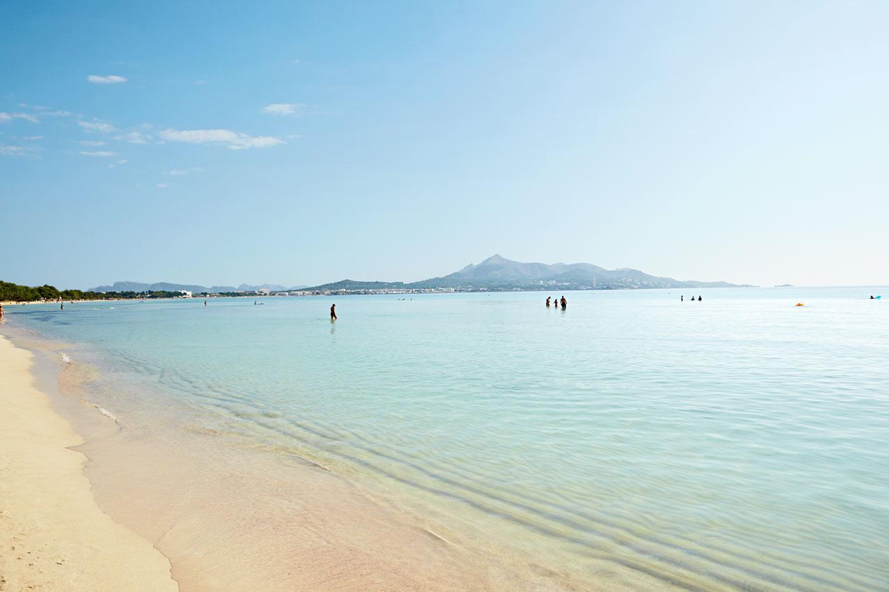 Alcudia spanien billeder fra alcudia spies for Designhotel mallorca strand