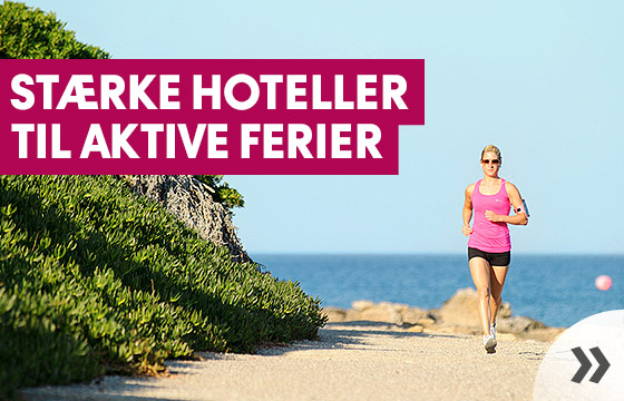 Hoteller for en aktiv ferie