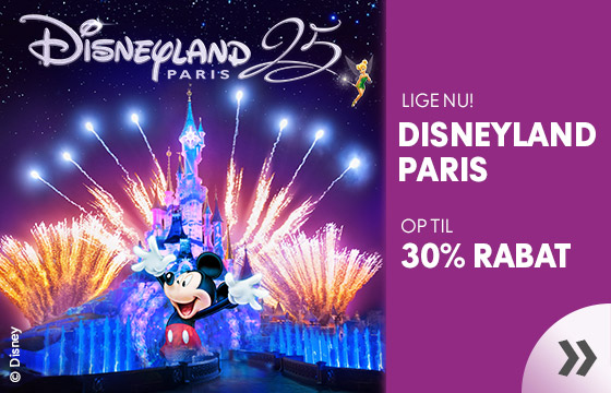Tilbud til Disneyland Paris