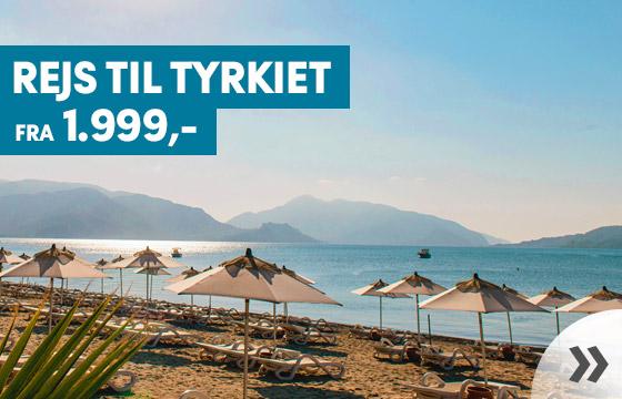 Rejser til Tyrkiet