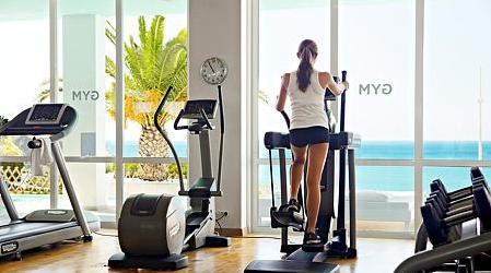 Motionsrum på Sunwing og Sunprime