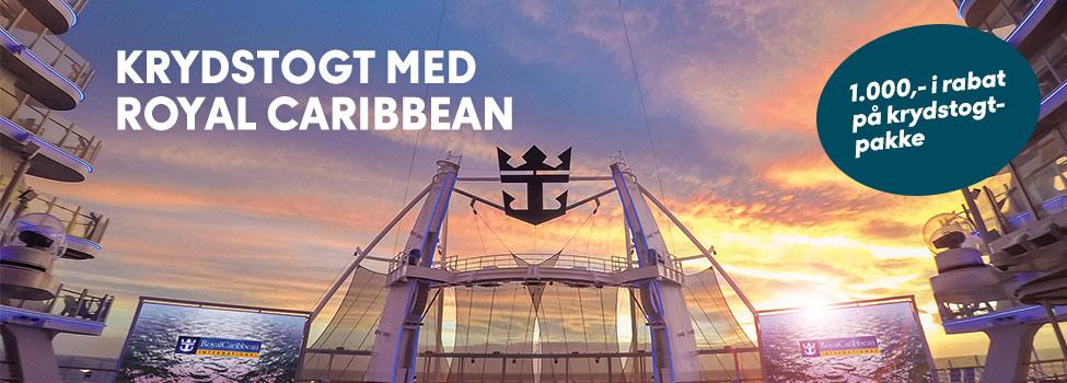 Krydstogt med Spies og Royal Caribbean