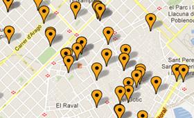 Spies har altid centrale hoteller i Barcelona