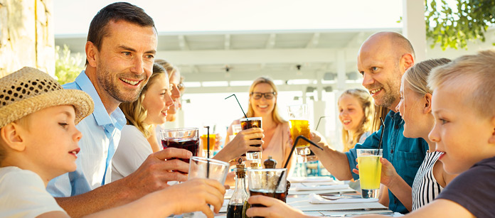 Mad og drikke på Sunwing Family Resorts